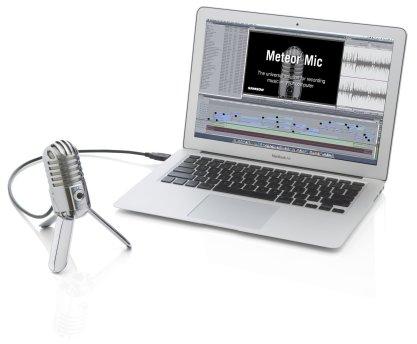 Meteor Mic Meets iPad Meets GarageBand