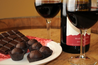 Wine and Chocolate Pairing